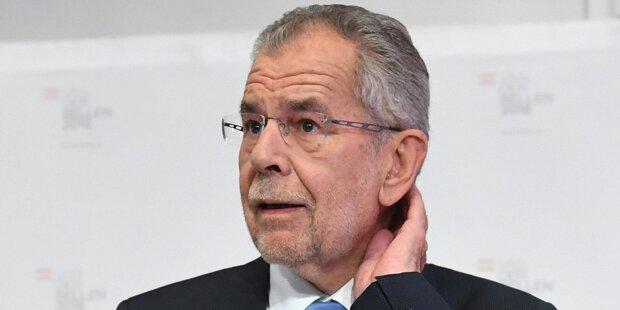 VdBs Wahlkampffinanzierung noch offen