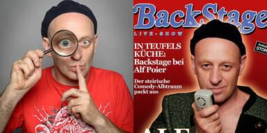 Alf Poier - Backstage