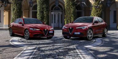 Neue Alfa-Sondermodelle von Giulia und Stelvio