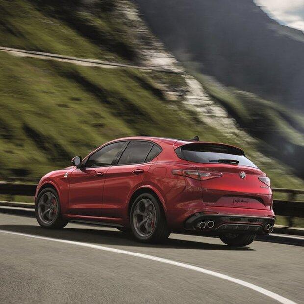 Alfa Stelvio Jetzt Auch Mit Einstiegsmotoren