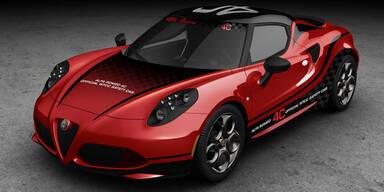 Alfa 4C wird offizielles Safety Car