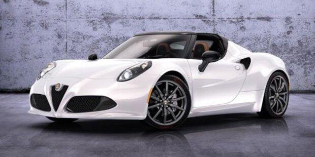So kommt der Alfa Romeo 4C Spider