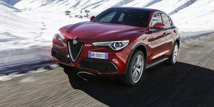 Alfa Stelvio jetzt auch mit Dieselmotor