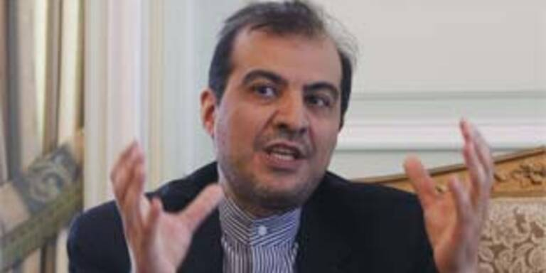 Brachte neue Vorschläge mit: Irans EU-Botschafter Aliasghar Khaji