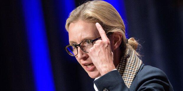 Rassismus-Wirbel um AfD-Kandidatin Weidel