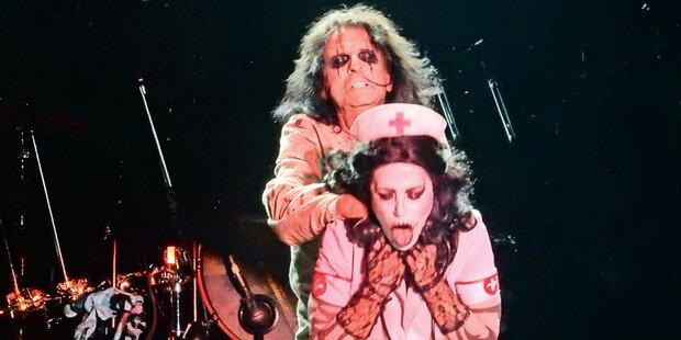 Alice Cooper schockt mit Grusel-Show