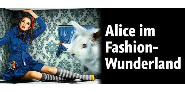 Zauberhaft: Alice im Fashion-Wunderland