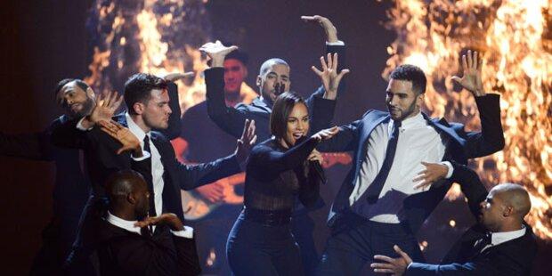 Alicia Keys ist Feuer und Flamme auf Wien