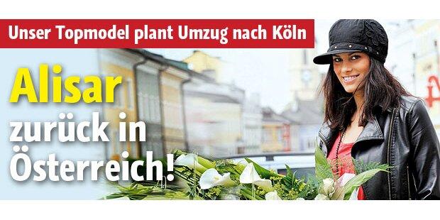Alisar zurück in Österreich