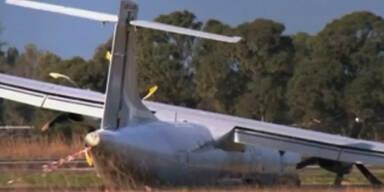 Bruchlandung von Alitalia-Flieger in Rom