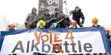 Song Contest: Premiere für Alkbottle
