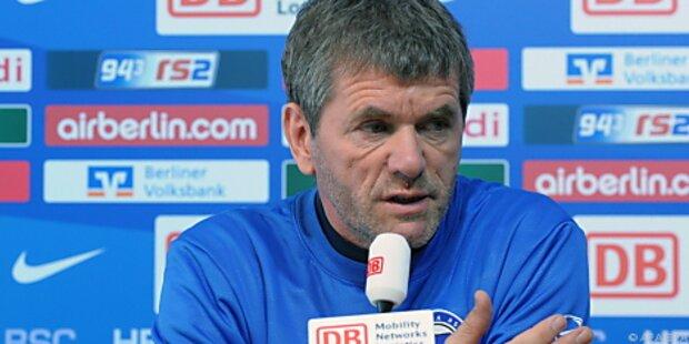 Trainer Funkel verlässt Absteiger Hertha BSC