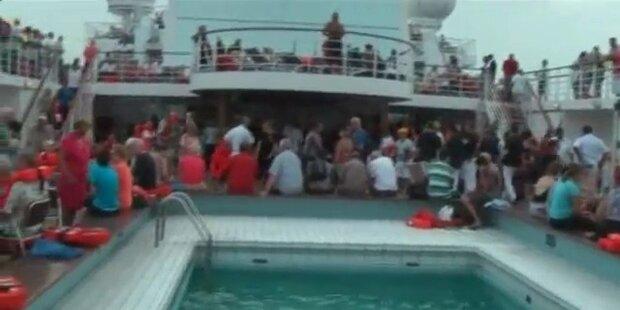 Video zeigt Zustände an Bord der Allegra