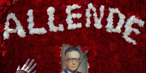 Präsident Salvador Allende exhumiert