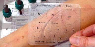 Allergiepass befragen