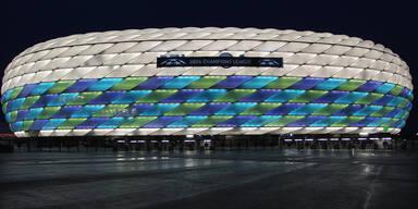 EURO-Spiele in München mit Fans!