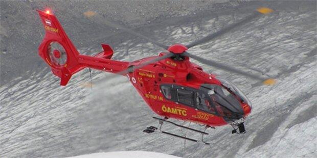 Elfjähriger Snowboarder bei Skiunfall verletzt