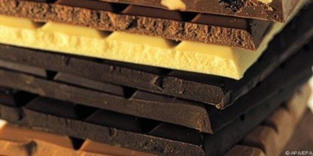 18 Tonnen Schokolade in Kufstein gestohlen