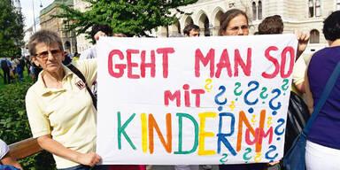 """Alt-Wien""-Kindergärten: Erneute Eltern-Proteste"