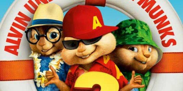 Alvins Chipmunks: Popcorn-Kino für Kids