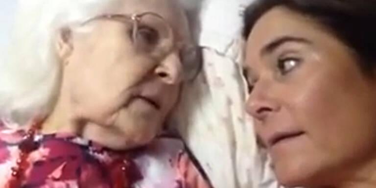 Alzheimerkranke Mutter erkennt ihre Tochter!