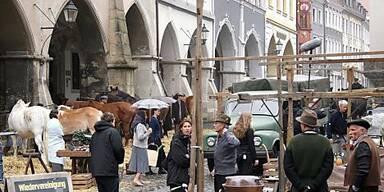 """Am Filmset von """"Der Vorleser"""" in Görlitz"""