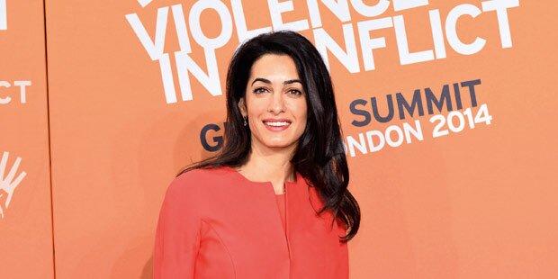 So tickt Clooneys Braut Amal