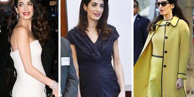 So viel kostet Amal Clooneys Umstandsmode