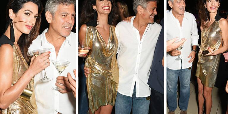So heiß ist Amal Clooneys Party-Look