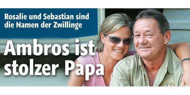 Ambros: Stolzer Papa von Zwillingen!