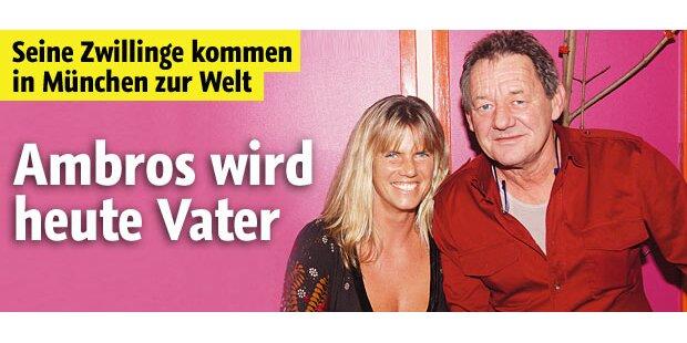 Heute wird Wolfgang Ambros Papa