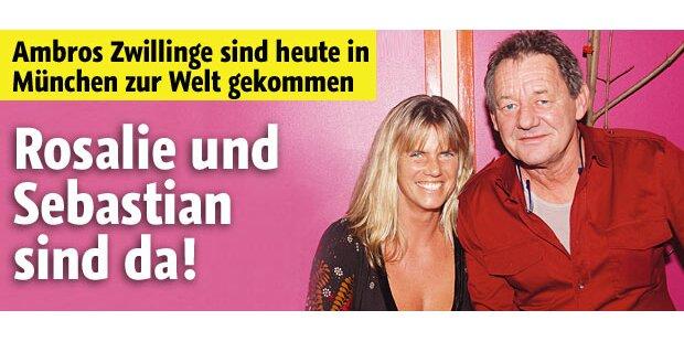 Zwillinge da: Wolfgang Ambros ist Papa!