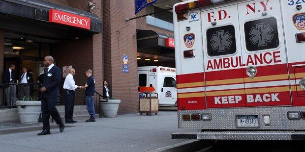 Fünffache Mutter mit eigenem Krankenwagen überfahren - tot