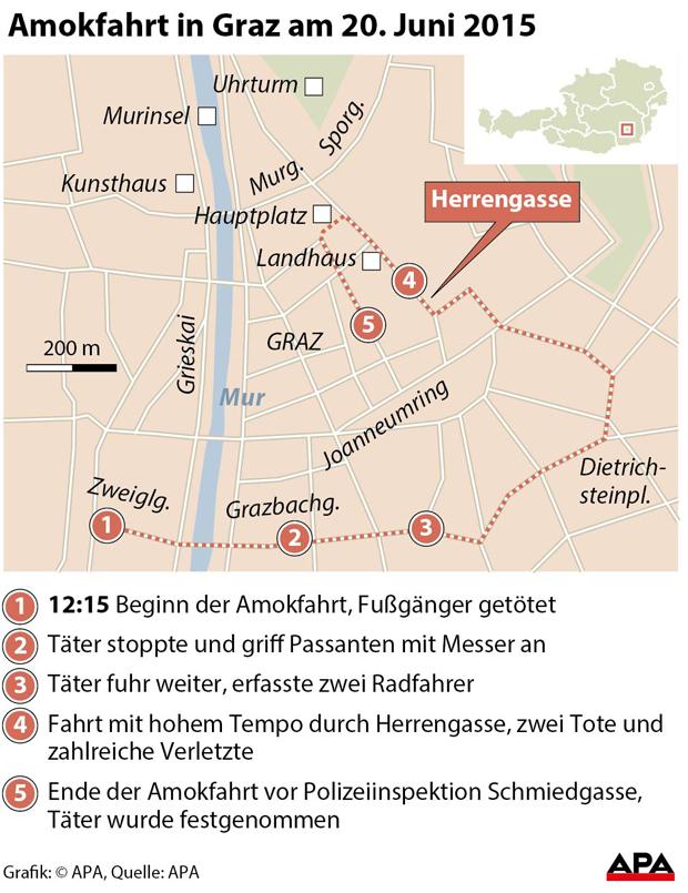 Amokfahrt Graz