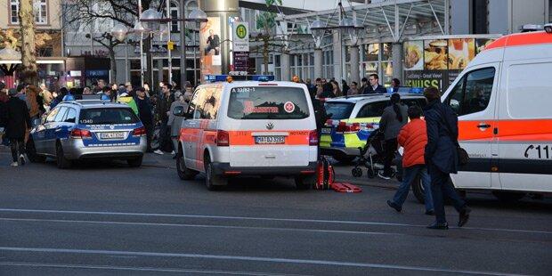 Tödliche Amokfahrt in Heidelberg: Zwei Österreicher verletzt