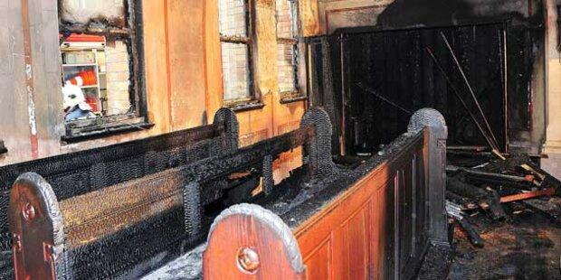 Polizei jagt Feuerteufel von Amstetten