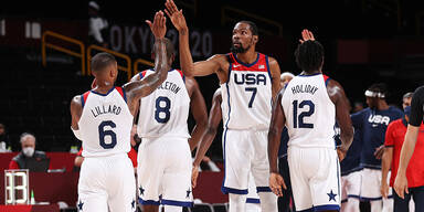 US-Basketballer fixieren Viertelfinale