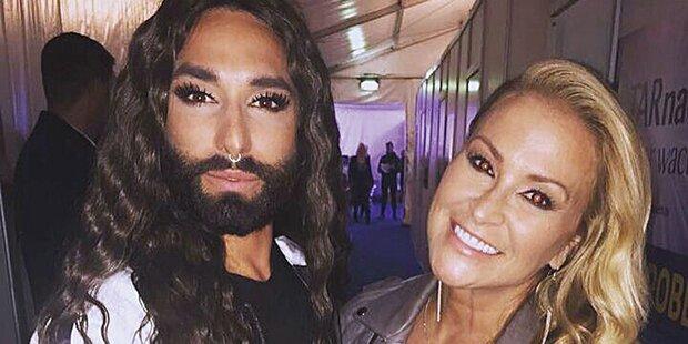 Anastacia: 'Plane Duett mit Conchita'