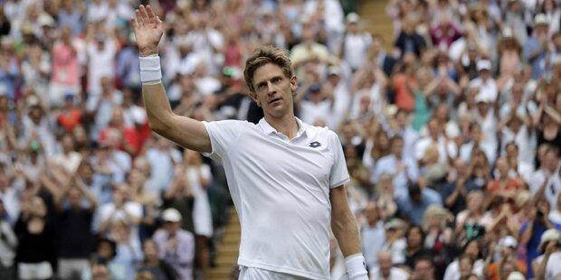 Anderson nach Marathon 1. Wimbledon-Finalist