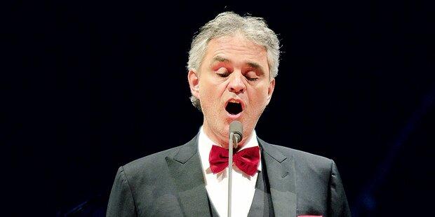 Andrea Bocelli stellt neues Lied vor