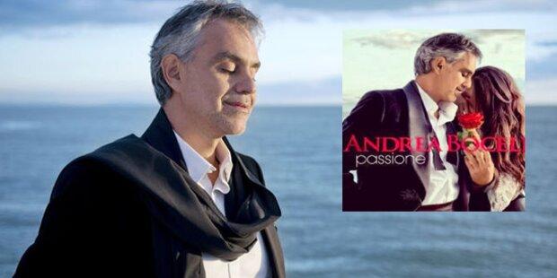 Andrea Bocelli verführt am Valentinstag im Kino