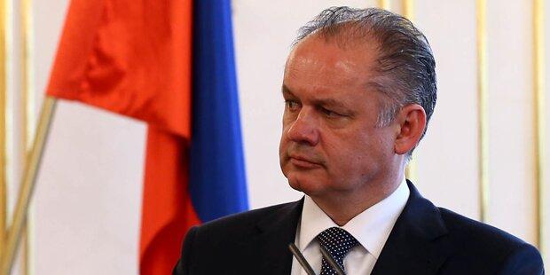 Präsident Kiska besucht Österreich