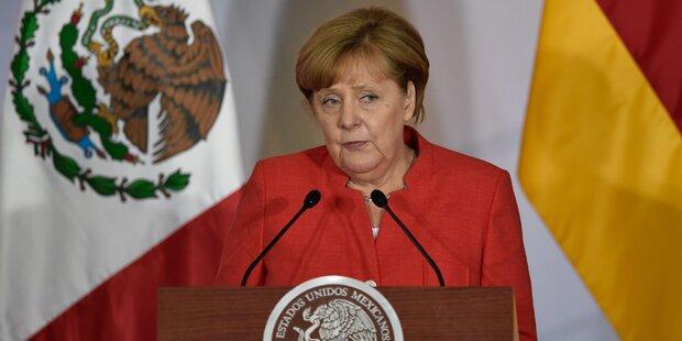 Merkel: Mauern und Abschottung lösen keine Probleme