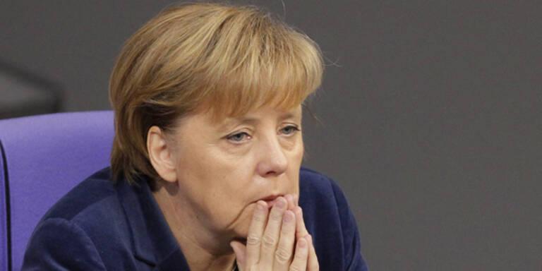 Merkels Helikopter beinahe abgestürzt
