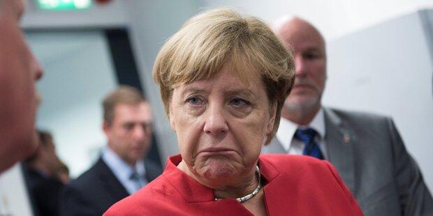 Nach Wahl-Beben: Wackelt jetzt Merkel?