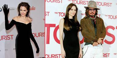 Angelina Jolie Grusel-Look