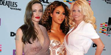 Angelina Jolie, Beyoncé Knowles, Pamela Anderson