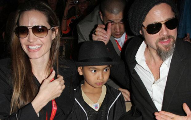 Jolie und Pitt demonstrieren Einigkeit