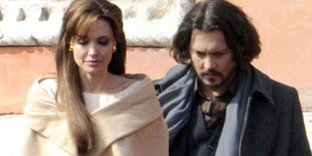 Angelina Jolie & Johnny Depp hassen sich