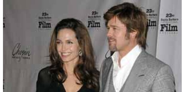 Angelina Jolie lachte bei Zwillings-Geburt